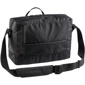 VAUDE Cyclist Waxed messenger bag L, black